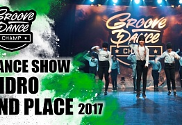 GIDRO |2ND PLACE DANCE SHOW |GROOVE DANCE CHAMP | GDC2017